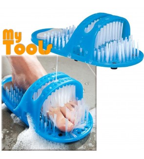Mytools Scrubber Slippers Bath Shoes Foot Washing Brush Cleaning Massage Exfoliating Scrubbing Shower Slipper