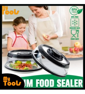 Mytools Airtight Vacuum Food Sealer Cover Kitchen Instant Fresh Cool Fridge Dish Cover W Timescale