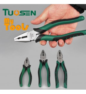 Mytools Premium TUOSEN Combination Pliers 6 Inch / 8 Inch Professional Grade Hand Wire Cutter Pliers Set Stripper Crimp Cutter Needle Nose Plier