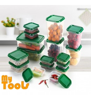 Mytools 17pcs ikea BPA Free Microwave-safe Multipurpose Food Container / Lunch Box, Tupperware