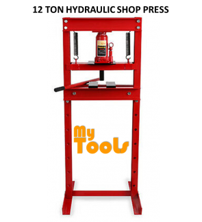 12 Ton Hydraulic Shop Press (Heavy Duty)