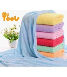Mytools Towel 70x140cm Absorbent Bear Cartoon Microfiber Beach Quick-Drying Bath Towel