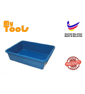 Mytools Rectangular Deep Basin Tray Stackable Waterproof Food-Grade Heavy Duty for Household Warehouse Office Container Multipurpose