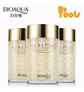 BIOAQUA Pure Pearl Sleeping Mask Cream Tender Whitening Anti Wrinkle Face Mask Moisturizing Skin Care Hydrating Facial Night Mask