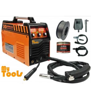 Mytools MIG / MMA-165 Professional 3 IN 1 MIG & MMA Arc Gasless Welding Machine with Accessories