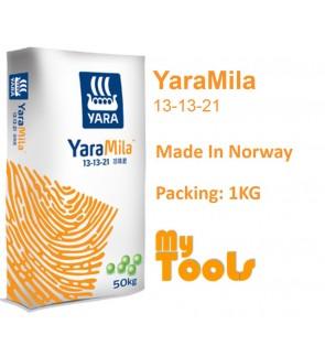 Yara YaraMila 13-13-21 1KG FruitingMaintain Fertilizer Baja BerbuahImport (Made In Norway)