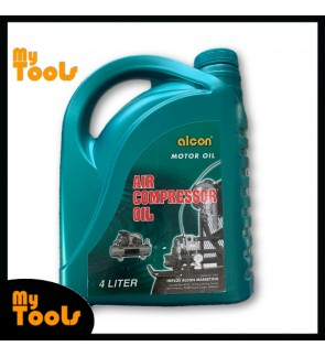 Alcon Professional Air Compressor Oil Lubricant Oil 4Litre (Made In UAE)