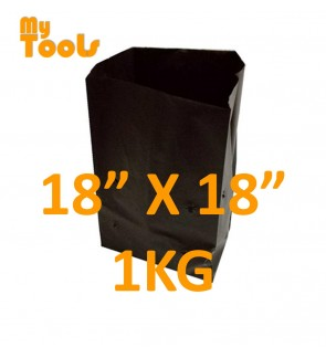 "Mytools 1KG 18"" x 18"" HDPE Polibeg UV Poly Bag Polybag Nursery Plantation Bag (Made In Malaysia)"