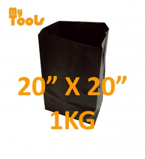 "Mytools 1KG 20"" x 20"" HDPE Polibeg UV Poly Bag Polybag Nursery Plantation Bag (Made In Malaysia)"