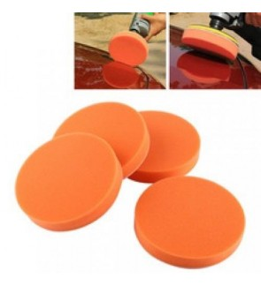"4 UNIT 7"" 180MM POLISHER VELCRO ADHESIVE CAR POLISHING SPONGE PAD GRINDER"