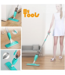 Mytools Easy Spray Mop Sprayer Spraying Mop with 1X Microfiber Mop Cloth