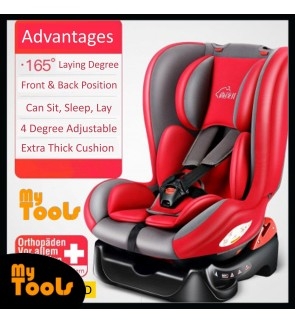 Mytools 360 Infant Baby Booster Car Seat Convertible Carseat 5 Point Safety Belt Fully Cushion For New Born to 6 Years