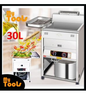 Mytools 30L Commercial Gas Deep Fryer Restaurant Stainless steel