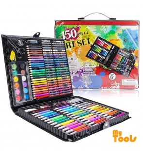Mytools 150 Piece Art Supplies Set Children Drawing Tool Kids Art Drawing Gift