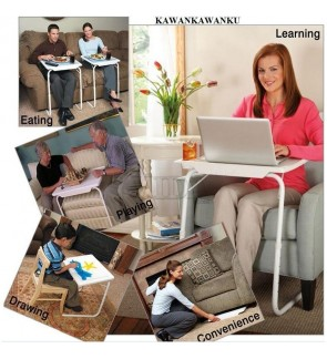 Table-Mate 5 in 1 Smart Table Mate Foldable Folding Tablemate Adjustable Tray As Seen On Tv