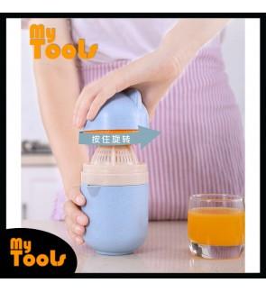 Mytools Manual Hand Press Juicer Fruit Lemon Citrus Juice Extractor Clamp Juice Maker Wheat Straw