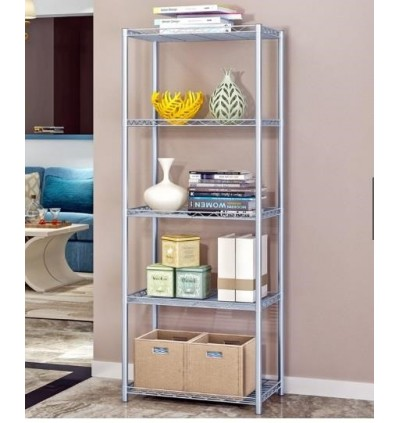 Mytools 5 Tier Kitchen Dapur Organizer Steel Rack Shelf