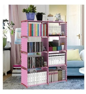 Korean DIY Book Storage 5 Tier with 8 Columns
