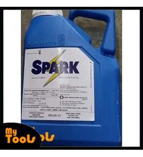 4L Spark Glyphosate 13.6% Herbicide Racun Rumput 4 Liter