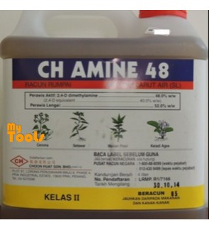 Mytools 4L CH Amine 48 Herbicide 48% Class 2 Weeds Control Racun Rumput