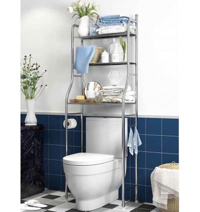 3 Tiers Bathroom and Toilet Organizer Shelves Rack