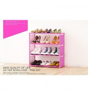 Korean Premium Quality 4 Tier SK-4 DIY Shoe Rack