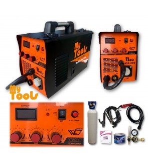 Mytools MIG288 MIG, MIG Gasless, ARC, Stainless Steels, Aluminium, TIG 6 in 1 Welding Set Machine Newest Tech (1 YEAR WARRANTY)