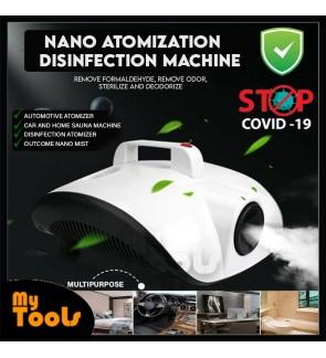 Mytools Nano Atomization Disinfection Machine / Car Sanitizer Machine Spraying Fogging Fogger