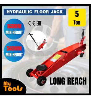 Mytools CE Certified 5T 5 Ton Hydraulic Long Reach Floor Jack + 3 Months Warranty