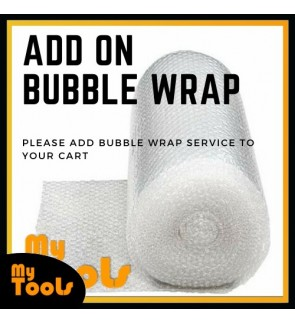 ADD ON - Bubble Wrap Extra Protection for Packaging