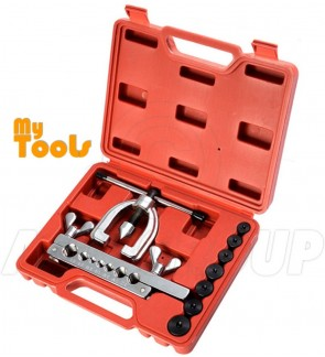 Mytools Copper Brake Fuel Pipe Repair Double Flaring Dies Tool Set Clamp Kit Tube Cutter