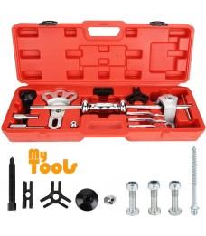 Mytools Universal Slide Hammer Puller Kit Axle Bearing Hub Auto Set with Internal External Jaw Car Vehicle Tool Adapter