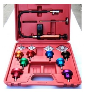 Automotive Tank Leak Detector 14pcs / Automotive Cooling System Tester