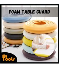 Mytools Foam Table Edge Guard Desk Edge Guard Strip Rounded Corner Protector for Furniture Cushion Rubber Bumper