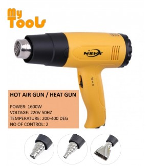 Mytools Hot Air Gun / Heat Gun 1600W Double Heat Control