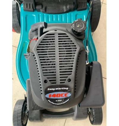 "Mytools 19"" 480mm 140cc 4HP Petrol Grass Cutter Lawn Mower / Mover c/w Grass Basket"