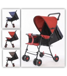 Mytools Easy Fold Light weight Baby Stroller With Brake System Prams & Netted Storage Basket