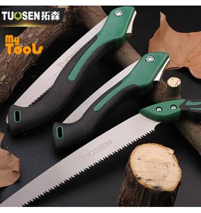 Mytools Tuosen 540mm / 395mm Foldable Folding Garden Saw Pruner Secateurs Pruning Gardening Serra Camping Saws
