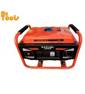 Kazumi KZ2900N (Japan) 2900W Starting 2200W Running Petrol Generator with 12V Charging & 2unit 2
