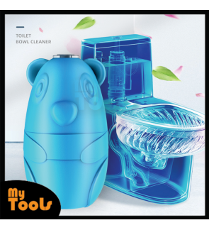 Mytools Toilet cleaner Bear Blue Bubble 150G Deodorant Toilet Bowl Magic Automatic Flush Deep Clean The Dirt Of the Toilet Bowl