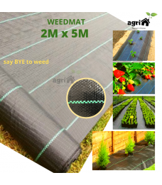 Mytools 2M X 5M Weedmat // 2M X 10M Weedmat Landscape Weed Control Mat Woven Ground Cover Membrane Gardening/ Penutup Tanah bumi