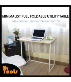 Mytools Minimalist Full Foldable Table Computer desk desktop simple foldable writing table dormitory bedroom student desk simple modern household table