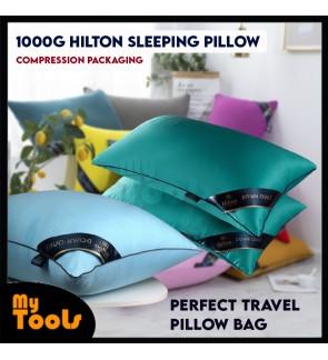Mytools 1Kg/1000g Hilton Sleeping Pillow Viral Bantal Tidur Bantal Hotel