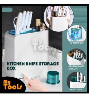 Mytools Knife Holder Multi-Functional Household Disinfection Desktop Storage Rack Chopsticks Storage Kitchen Knife Holder Knife
