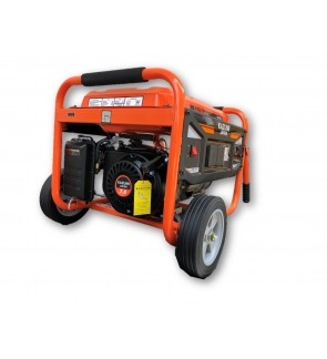 Kazumi KZ3900N3900W Starting 3300W Running Petrol Generator with 12V Charging & 2unit 2