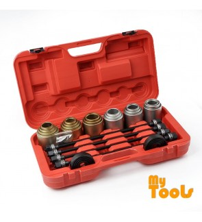 Mytools 26PCS Universal Press and Pull Sleeve Kit Remove Removal Install Bushes Bearings Garage Tool