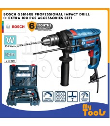 BOSCH GSB16RE / GSB 16 RE / GSB 16RE Professional 16mm Hand Impact Drill c/w 100 Accessories