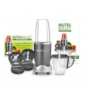 Nutri Bullet 12 Pcs Extractor 600W Juicer Food Processor Blender C/W Recipe