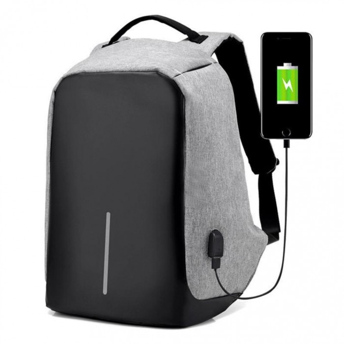 anti theft usb charging backpack travel beg bags