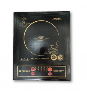 PFSKOE 2200W Electric Induction Cooker Portable Cooktop Black